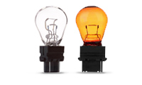 All Plastic Wedge Base Lamps